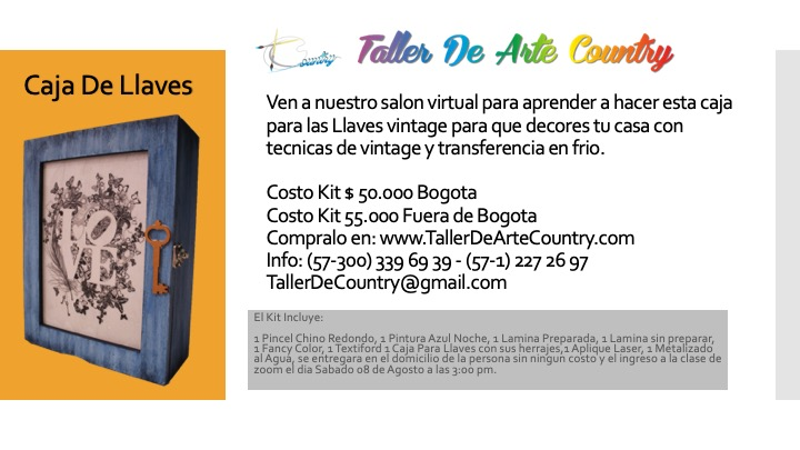 Salon Virtual Caja llaves